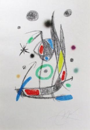 Lithographie Miró - Maravillas Con Variaciones Acrósticas En El Jardín De Miró - Plate 14