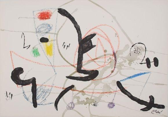 Lithographie Miró - Maravillas con variaciones acrosticas