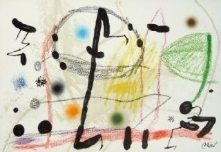 Lithographie Miró - Maravillas con variaciones acrosticas 13