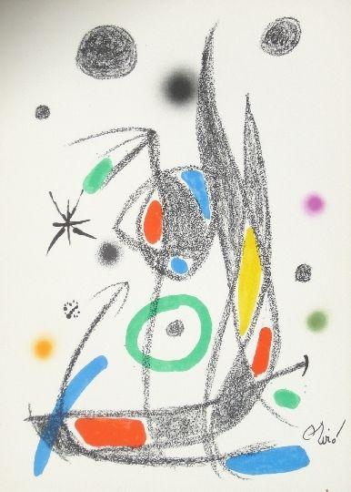 Lithographie Miró - Maravillas con variaciones acrosticas 14