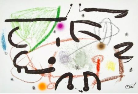 Lithographie Miró - Maravillas con variaciones acrosticas 15