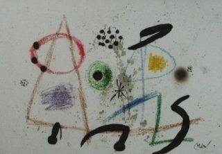Lithographie Miró - Maravillas con variaciones acrosticas 3