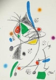 Lithographie Miró - Maravillas con variaciones acrosticas 4