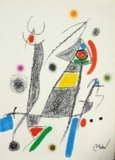 Lithographie Miró - Maravillas con variaciones acrosticas 6