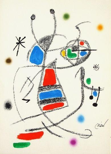 Lithographie Miró - Maravillas con variaciones acrosticas 8