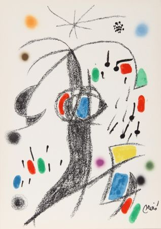 Lithographie Miró - Maravillas con Variaciones Acrosticas en el jardin de Miro (Number 21)