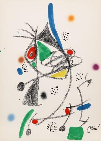 Lithographie Miró - Maravillas con Variaciones Acrosticas en el jardin de Miro (Number 6)