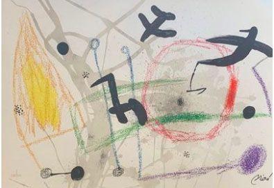 Lithographie Miró - Maravillas con variaciones acrosticas en el jardin de Miro V