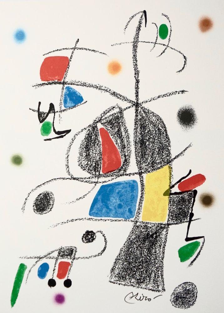 Lithographie Miró - Maravillascon variaciones arcrosticas17