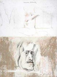 Lithographie Bru - Mariana destinada Velasquez