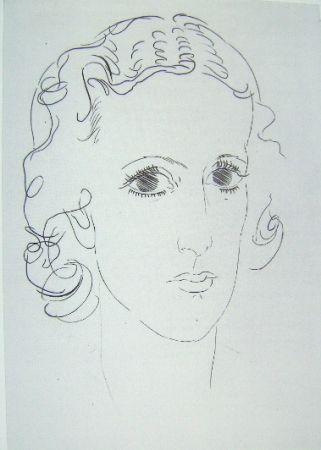 Gravure Marcoussis - Marie-Laure de Noailles