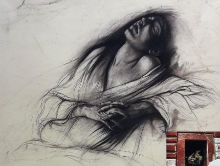 Lithographie Pignon-Ernest - Marie Madeleine