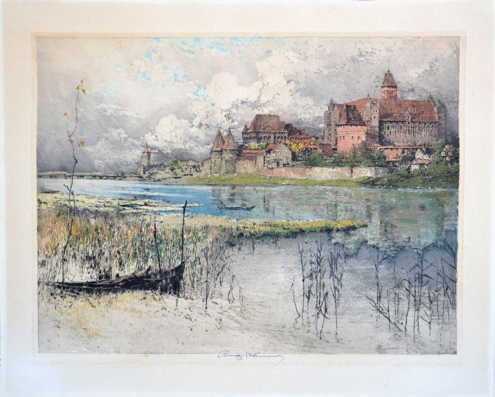 Aquatinte Kasimir - Marienburg Castle