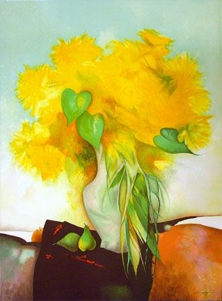Lithographie Gaveau - Marigolds