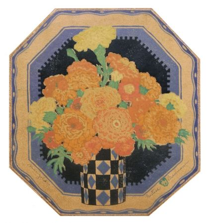 Gravure Sur Bois Baumann - Marigolds (a.k.a. Sunny Messengers)