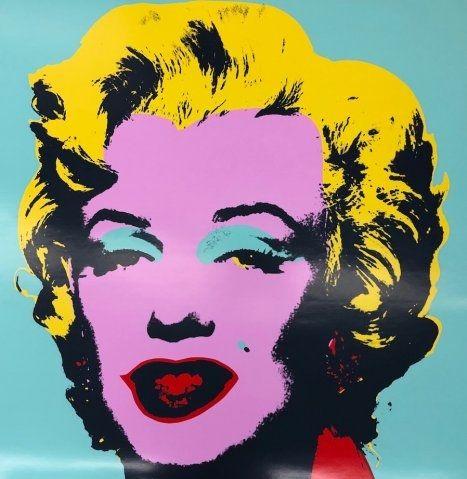 Sérigraphie Warhol - Marily VII