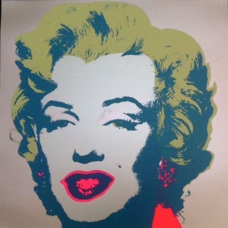 Sérigraphie Warhol (After) - Marilyn