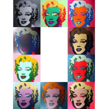 Sérigraphie Warhol (After) - Marilyn - Portfolio