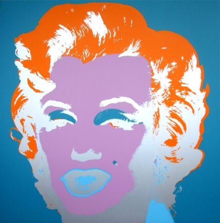 Sérigraphie Warhol (After) - Marilyn 11.29