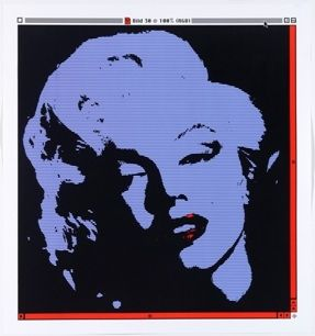 Lithographie Pusenkoff - Marilyn // 30