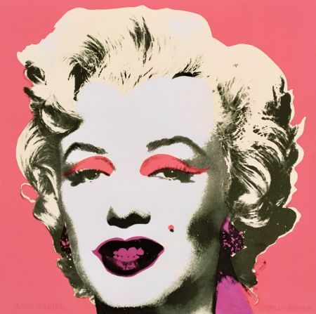 Sérigraphie Warhol - 'Marilyn' (Castelli Mailer) Hand Signed Silkscreen Print