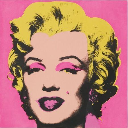 Sérigraphie Warhol - Marilyn FS.II.31