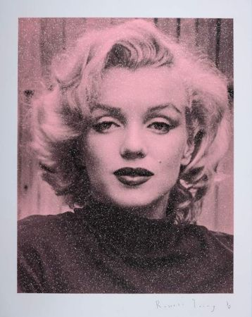 Sérigraphie Young - Marilyn Hollywood - Superstar Pink