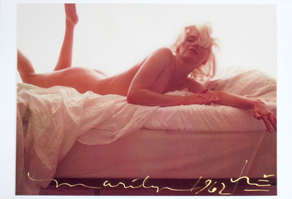 Photographie Stern - Marilyn in Bed I
