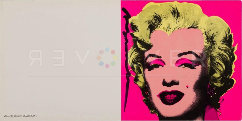 Sérigraphie Warhol - Marilyn Invitation (Castelli Graphics)