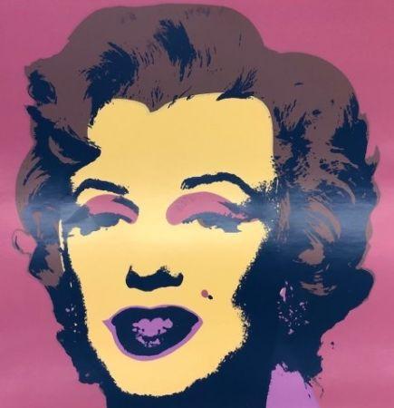 Sérigraphie Warhol - Marilyn IX