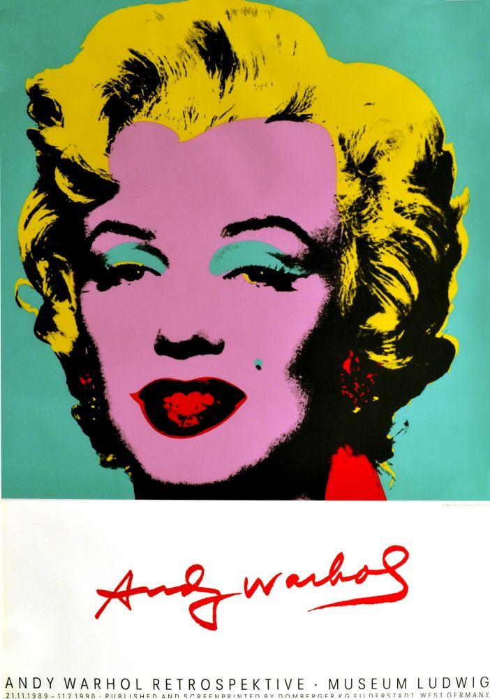 Affiche Warhol - Marilyn Monroe