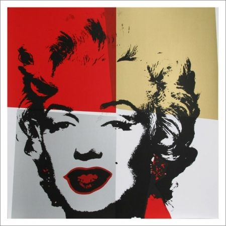 Sérigraphie Warhol (After) - Marilyn Monroe