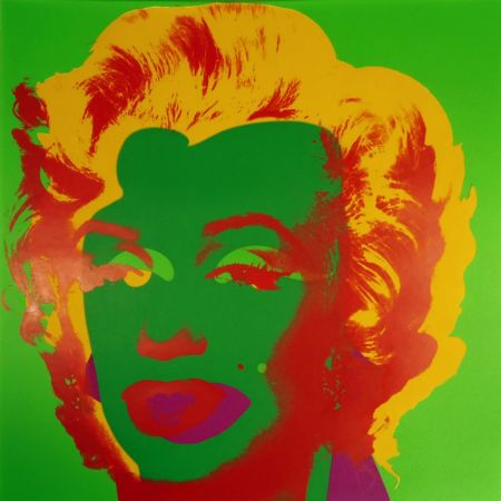 Sérigraphie Warhol - Marilyn Monroe