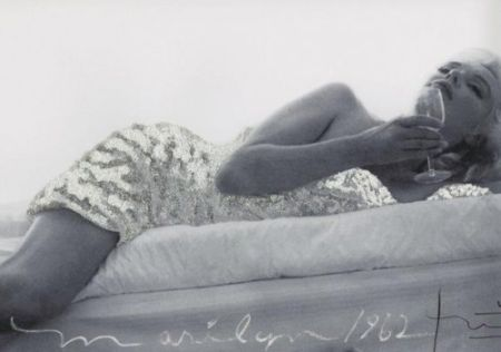 Photographie Stern - Marilyn Monroe 1962. New baby in silver
