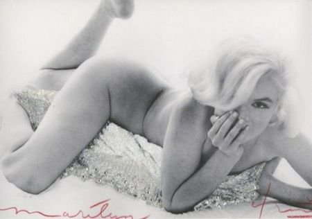 Photographie Stern - Marilyn Monroe. Baby Nude
