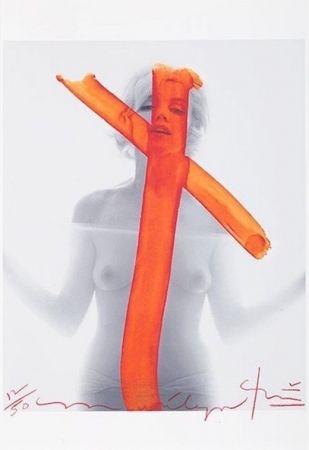 Photographie Stern - Marilyn Monroe, Crucifix