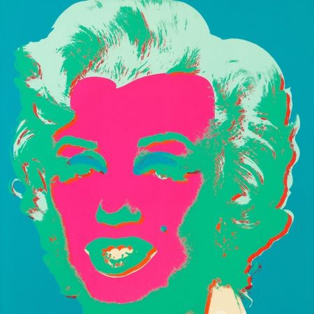 Sérigraphie Warhol - Marilyn Monroe (FS II.30)