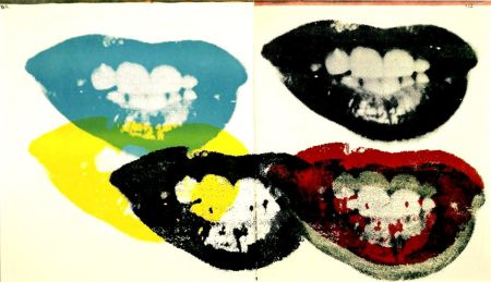 Sérigraphie Warhol - Marilyn Monroe I Love Your Kiss Forever Forever (FS II.5)
