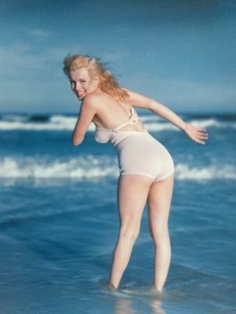 Photographie De Dienes  - Marilyn Monroe. La Plage. 1949