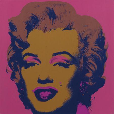 Sérigraphie Warhol - Marilyn Monroe (Marilyn) (FS II.27)