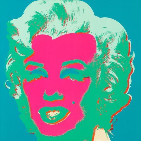 Sérigraphie Warhol - Marilyn Monroe (Marilyn) (FS II.30)