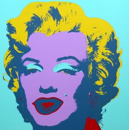 Lithographie Warhol (After) - Marilyn No 23, Sunday B Morning (after Andy Warhol)