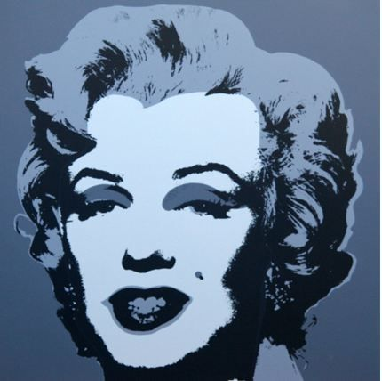 Lithographie Warhol (After) - Marilyn No 24, Sunday B Morning (after Andy Warhol)