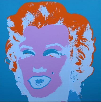 Lithographie Warhol (After) - Marilyn No 29, Sunday B Morning (after Andy Warhol)