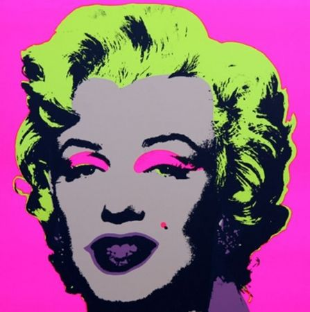 Lithographie Warhol (After) - Marilyn No 31, Sunday B Morning (after Andy Warhol)
