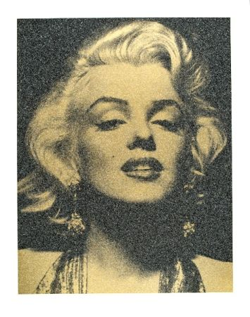 Sérigraphie Young - Marilyn Portrait
