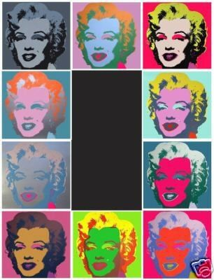 Sérigraphie Warhol (After) - Marilyn set de 10 sérigraphies