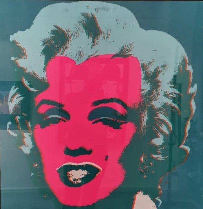 Sérigraphie Warhol - Marilyn