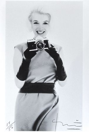 Photographie Stern - Marilyn with Nikon