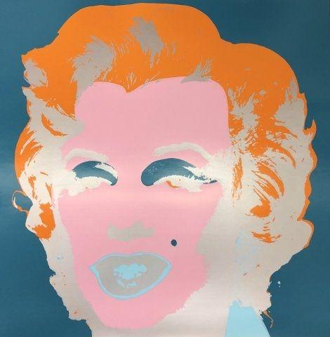 Sérigraphie Warhol - Marilyn X